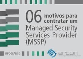Infográfico - Managed Security Services Provider (MSSP)