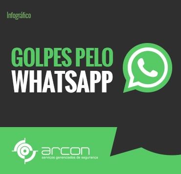 Golpes pelo WhatsApp